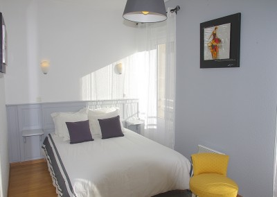 Des chambres de 1 à 4 personnes