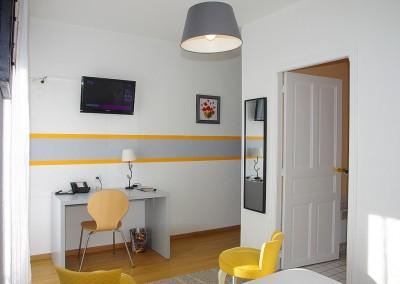Profitez d'un accès wifi gratuit dans toutes les chambres