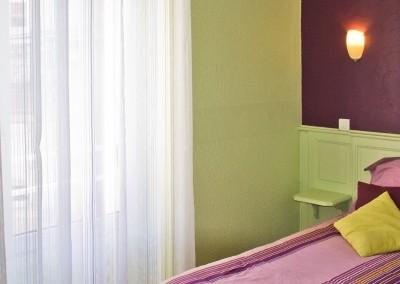 Nos chambres sont coquettes et décorées avec soin