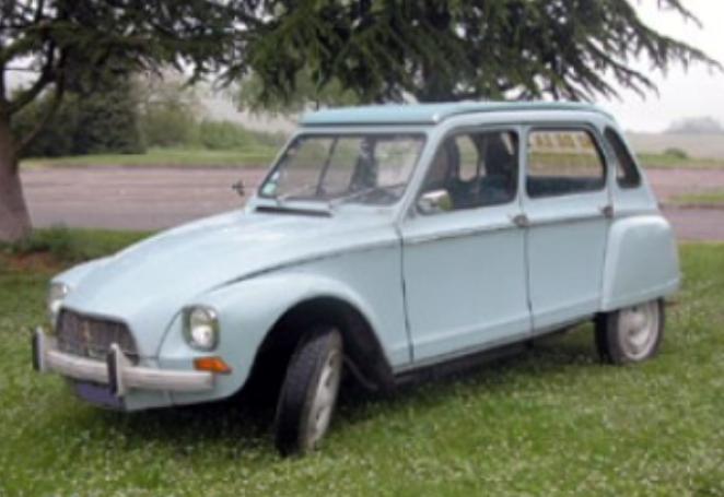 Voiture de location Dyane Citroën